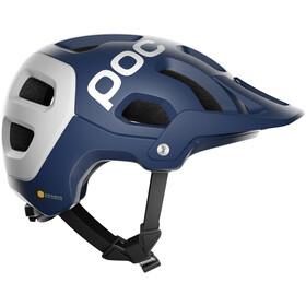 POC Tectal Race Spin Kask rowerowy, lead blue/hydrogen white matt